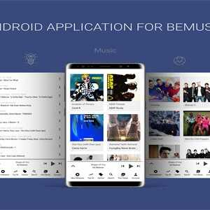 JUAL Android Application For BeMusic Script