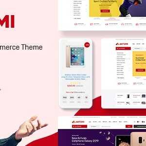 JUAL Antomi - Multipurpose Theme for WooCommerce WordPress
