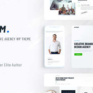 JUAL Artrium - Creative Agency & Web Studio WordPress Theme