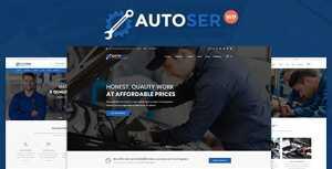 Autoser – Car Repair and Auto Service WordPress Theme