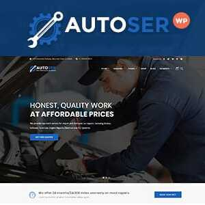 JUAL Autoser - Car Repair and Auto Service WordPress Theme
