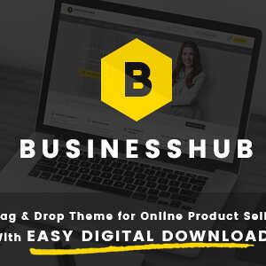 JUAL Business Hub - Responsive WordPress Theme For Online Business