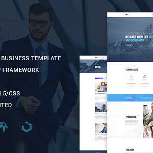 JUAL Busis - Clean Multipurpose Business & Corporate Responsive WordPress Theme