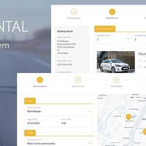 JUAL Car Rental Booking System for WordPress