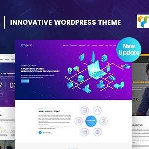 JUAL Cryptcio - Innovative WordPress Theme