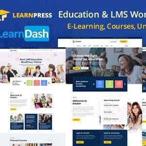 JUAL Edubin - Education LMS WordPress Theme