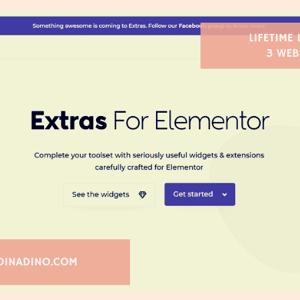 JUAL Elementor Extras Pro + Lifetime 3 Websites ORIGINAL LICENSE