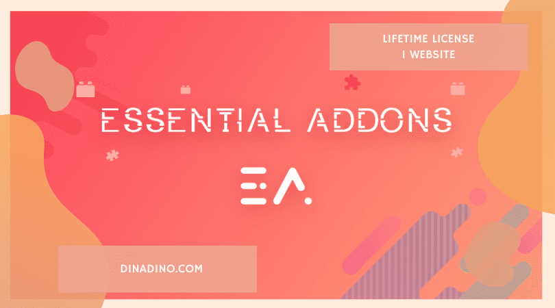 JUAL Essential Addons For Elementor + Lifetime 1 Website ORIGINAL LICENSE