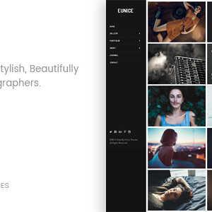 JUAL Eunice - Photography Portfolio WordPress Theme