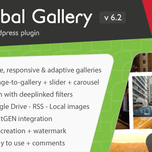 JUAL Global Gallery - Wordpress Responsive Gallery