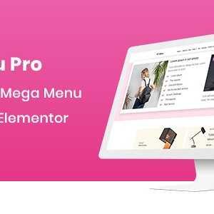 JUAL HT Menu Pro - WordPress Mega Menu Builder for Elementor
