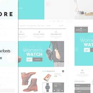 JUAL HappyStore - Responsive WordPress WooCommerce Theme