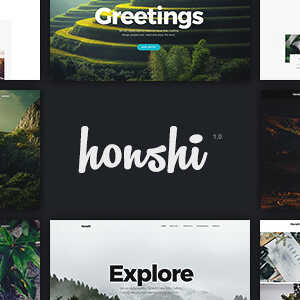 JUAL Honshi - WordPress Multi Purpose Creative Portfolio Theme