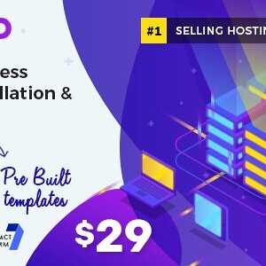 JUAL Hostiko - WordPress WHMCS Hosting Theme