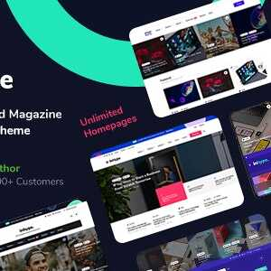 JUAL InHype - Blog & Magazine WordPress Theme