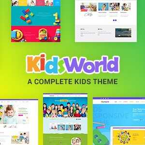 JUAL Kids Heaven - Children WordPress Theme