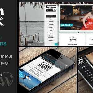 JUAL LemonChili - A Restaurant WordPress Theme