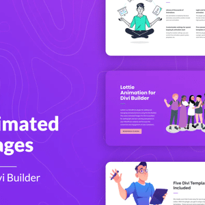 JUAL Lottier - Lottie Animated Images for Divi Builder