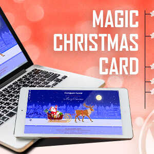 JUAL Magic Christmas Card With Animation - WordPress Plugin