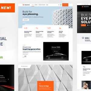 JUAL Nex - Factory & Industrial WordPress
