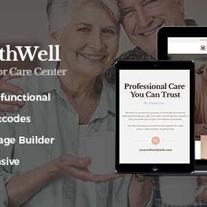 JUAL PathWell - A Senior Care Hospital WordPress Theme