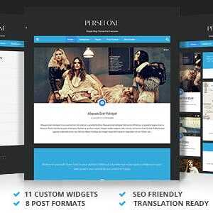 JUAL Persefone - Responsive WordPress Blog Theme