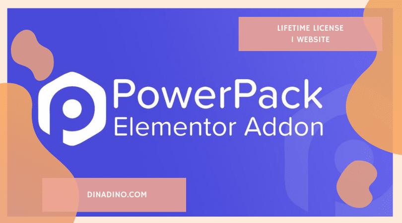 JUAL PowerPack for Elementor + Lifetime 1 Website ORIGINAL LICENSE