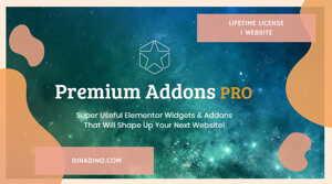 Premium Addons For Elementor PRO + Lifetime 1 Website ORIGINAL LICENSE