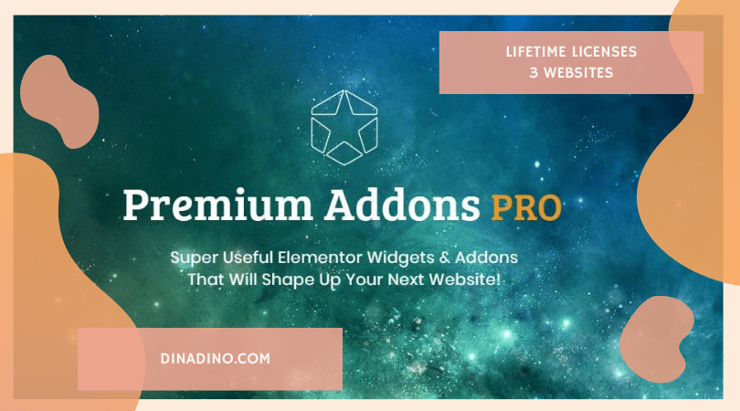 JUAL Premium Addons For Elementor PRO + Lifetime 3 Websites ORIGINAL LICENSE