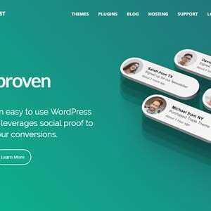 JUAL Proven - Premium Social Proof WordPress Plugin