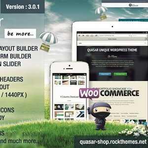JUAL Quasar - WordPress Theme with Animation Builder