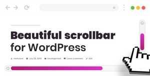 Scroller – Custom Scrollbar for WordPress
