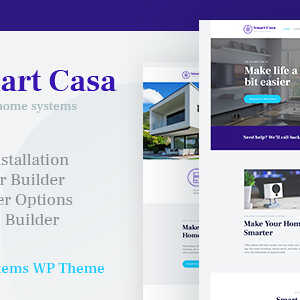 JUAL Smart Casa - Home Automation & Technologies WordPress Theme