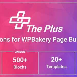 JUAL The Plus Addons for WPBakery Page Builder