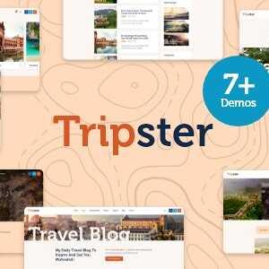 JUAL Tripster - Travel & Lifestyle WordPress Blog