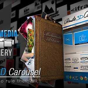 JUAL Ultimate 3D Carousel Wordpress Plugin