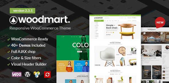 WoodMart – WooCommerce Responsive Theme For WordPress