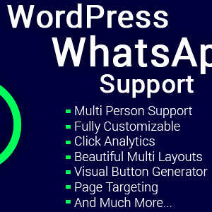 JUAL WordPress WhatsApp Support