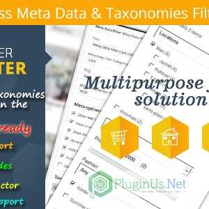 JUAL Wordpress Meta Data & Taxonomies Filter