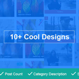 JUAL Post Category Image Grid and Slider Pro By WpOnlineSupport