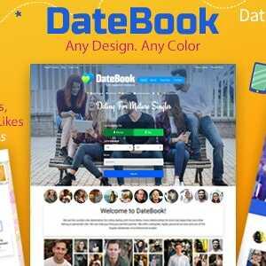 JUAL DateBook - Dating WordPress Theme