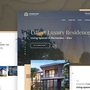 JUAL Hompark - Real Estate & Luxury Homes Theme