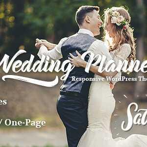JUAL Wedding Planner - Responsive WordPress Theme