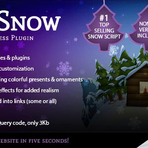 JUAL 5sec Snow - Christmas Joy Generator