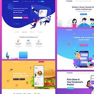 JUAL Aapside - App Landing WordPress Theme