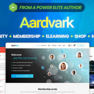 JUAL Aardvark - BuddyPress