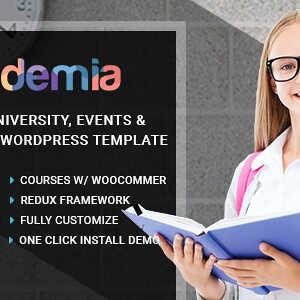JUAL Academia - Education Center WordPress Theme
