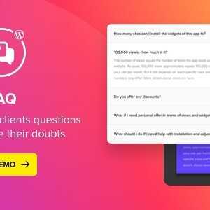JUAL Accordion FAQ WordPress Plugin By Elfsight