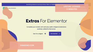 Elementor Extras Pro + Lifetime 3 Websites ORIGINAL LICENSE