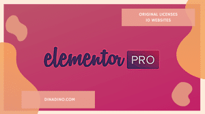 Elementor Pro Original + Lisensi 10 Website